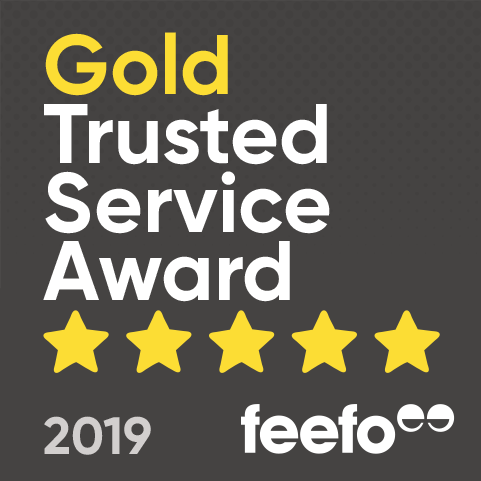 Feefo Gold Trusted Service Award Multi Gadget Insure